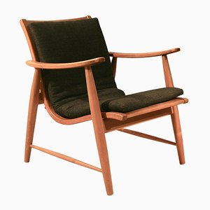 Adjustable Lounge Chair by Jacob Müller for Wohnhilfe, 1950s