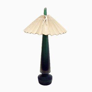 Lámpara de mesa de cristal de Murano Sommerso de Seguso, años 50