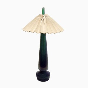 Table Lamp in Sommerso Murano Glass from Seguso, 1950s