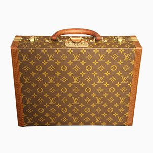 Vintage Small Monogram Suitcase or Briefcase from Louis Vuitton