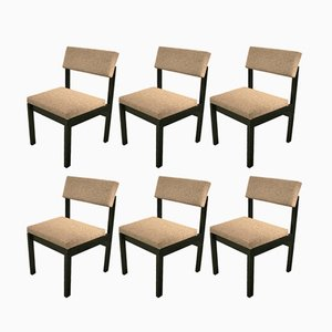 Chaises Mid-Century par Willy Guhl pour Dietiker, Set de 4