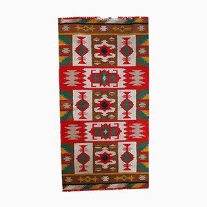 Handgemachter Türkisch Anatolischer Vintage Teppich, 1970er
