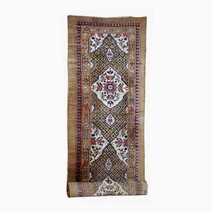 Antiker orientalischer Teppich aus Kamelhaar, 1880er