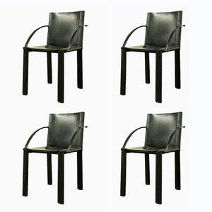 Coral Stühle von Matteo Grassi, 1980er, 4er Set