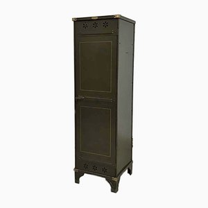 Vintage Brass Locker with Flower Details from Strafor