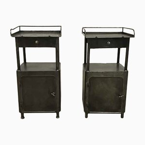 Vintage Night Stands, 1940s, Set of 2