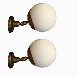 Wall Lamps from Stilnovo, 1950s, Set of 2