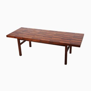 Mid-Century Rosewood Coffee Table from Bramin