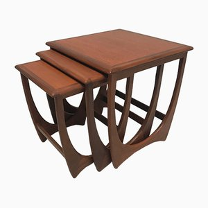 Mid-Century Nesting Tables from G-Plan