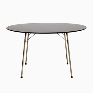 Danish FH3600 Dining Table by Arne Jacobsen for Fritz Hansen, 1970s