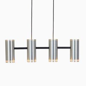 Lámpara colgante Cylinder IV Mid-Century de Jo Hammerborg para Fog & Mørup