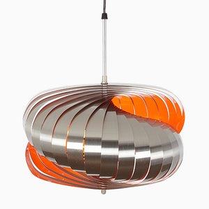 Lámpara colgante Luberon vintage con estructura giratoria de Henri Mathieu