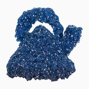 Escultura Crystallized Icons Blue Alessi Kettle de Isaac Monté