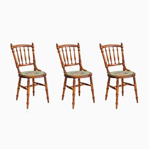 Vintage Swedish Chairs, Set of 3