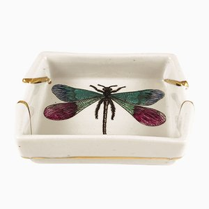 Vintage Dragonfly Ashtray by Piero Fornasetti