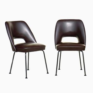Italian Side Chairs from Mobiltecnica, 1950s, Set of 2