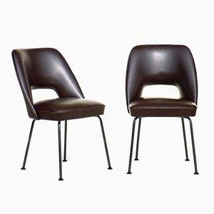 Italienische Stühle von Mobiltecnica, 1950er, 2er Set