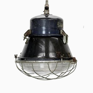 Mid-Century Industrial Loft Ceiling Lamp, 1966