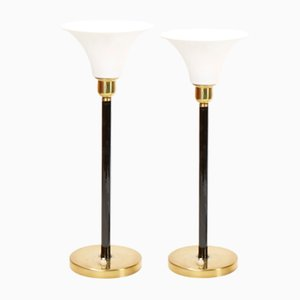 Mid-Century Table Lamps from ASEA, Set of 2