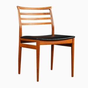 Chaises de Salon Mid-Century en Teck par Erling Torvits pour Sorø Stolefabrik, 1960s, Set de 4
