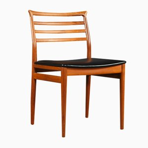 Mid-Century Teak Dining Chairs by Erling Torvits for Sorø Stolefabrik, 1960s, Set of 4