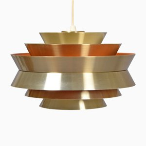 Danish Mid-Century Pendant Lamp by Carl Thore for Granhaga, 1950s
