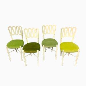 Vintage Stühle von Gio Ponti, 4er Set