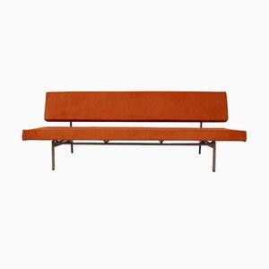 Sofá cama naranja de Rob Parry para Gelderland, años 50
