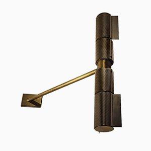 17508 Brass Sconce from Swisslamps International, 1970s