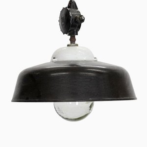 Vintage Industrial Loft Ceiling Lamp from Apolda