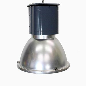 Lampada da loft industriale vintage grigia e blu
