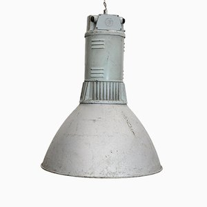 Large Silver Industrial Loft Ceiling Lamp