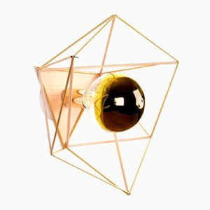 Hemmi-Icosahedron Wall Unit Lamp by Nicolas Brevers