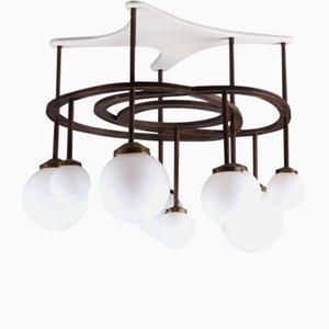 Deckenlampe von Yves Faucheur, 1970er