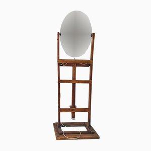 Vintage Italian Brutalist Mirror, 1970s