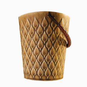 Cubitera danesa vintage de cerámica de Jens Harald Quistgaard para Kronjyden Nissen, años 70