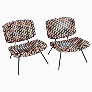 CM190 Stühle von Pierre Paulin für Thonet, 1960er, 2er Set