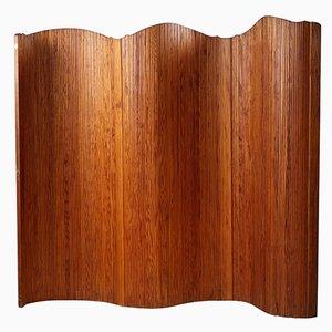 Biombo de madera curva de Baumann, años 50