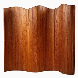 Paravento in legno curvo di Baumann, anni '50