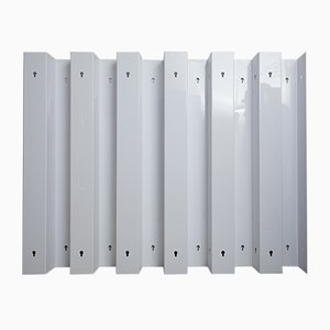 Vintage Plastic Modular Room Dividers by Gianfranco Frattini for Bernini, Set of 6