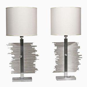 Lámparas de mesa italianas, años 70. Juego de 2
