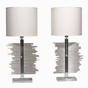 Lampes de Bureau, Italie, 1970s, Set de 2