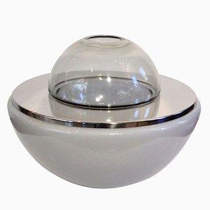 Lámpara de mesa era espacial de Mazzega, años 60