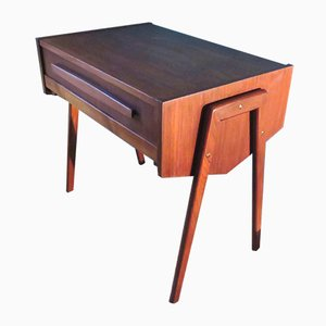 Danish Teak Sewing Table, 1955