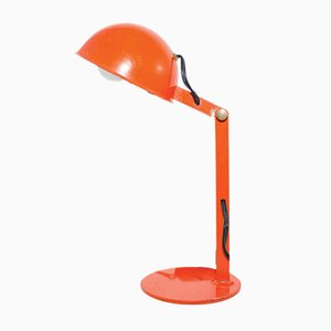 Mid-Century Orange Table Lamp, 1960s