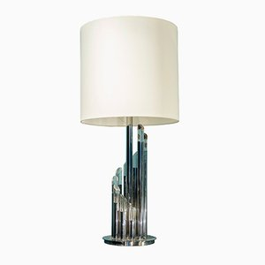 Lámpara de mesa de Gaetano Sciolari, años 60