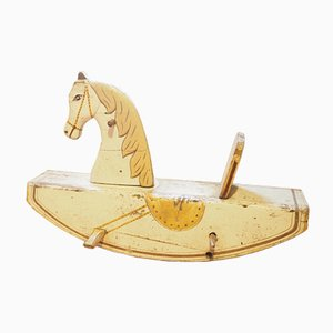 Rocking Horse in Wood, 1940s