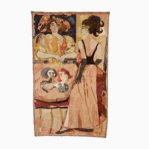Niederländische De Loge Wandbehang von Leslie Gabriëlse, 1965