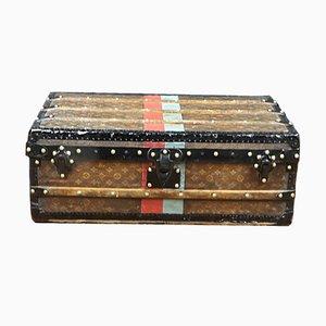 Antiker Monogrammierter Modell R2477 Koffer von Louis Vuitton