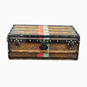 Antique Model R2477 Woven Monogram Trunk by Louis Vuitton